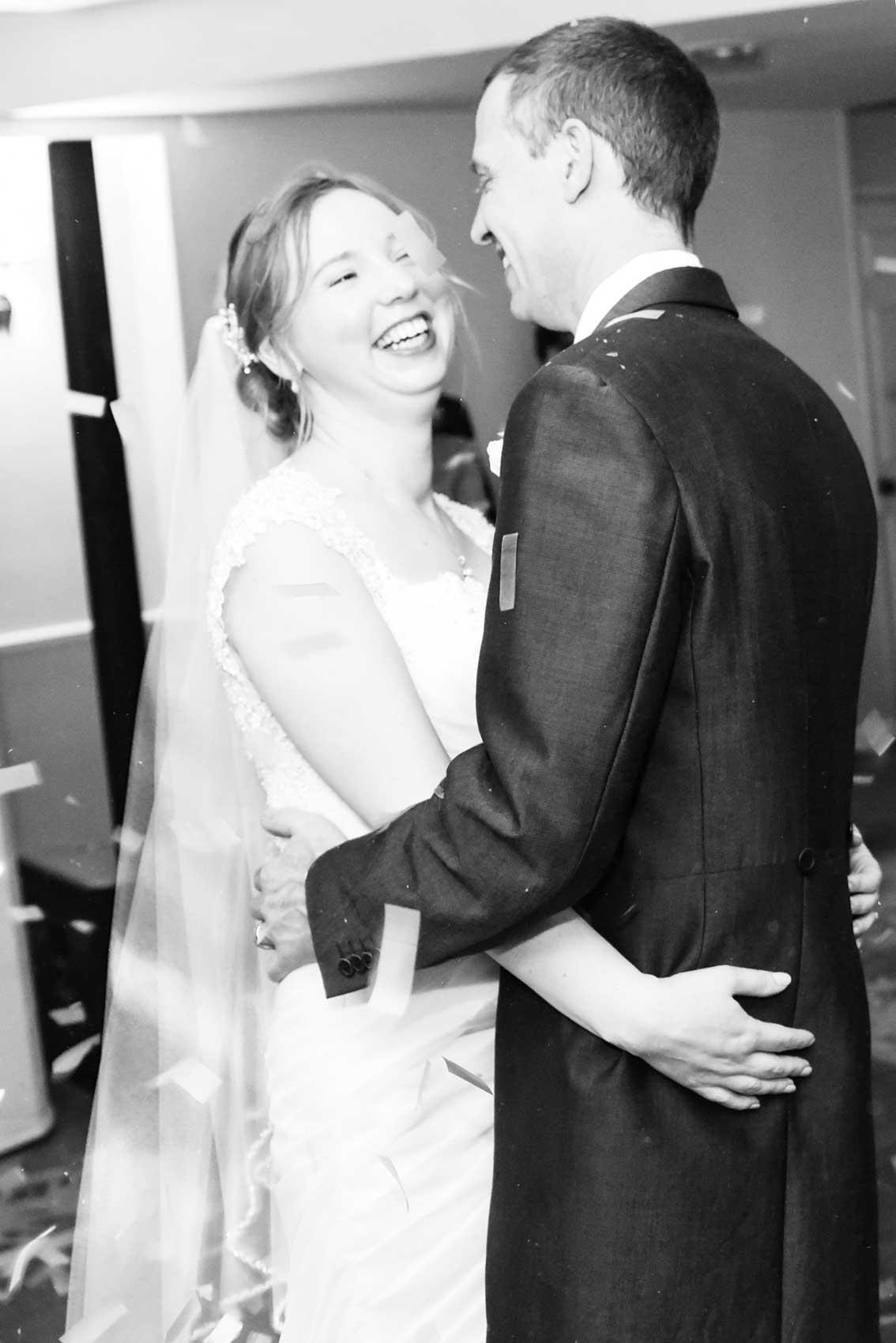 First Dance Wedding Photography at Highfield Park