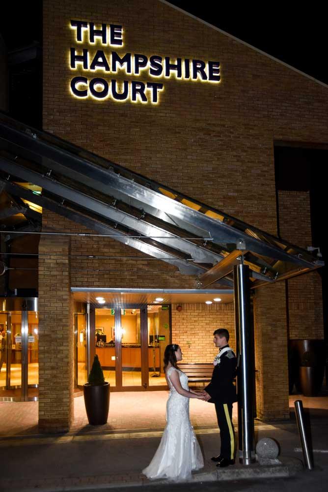 Wedding Photographer Hampshire Court Hotel