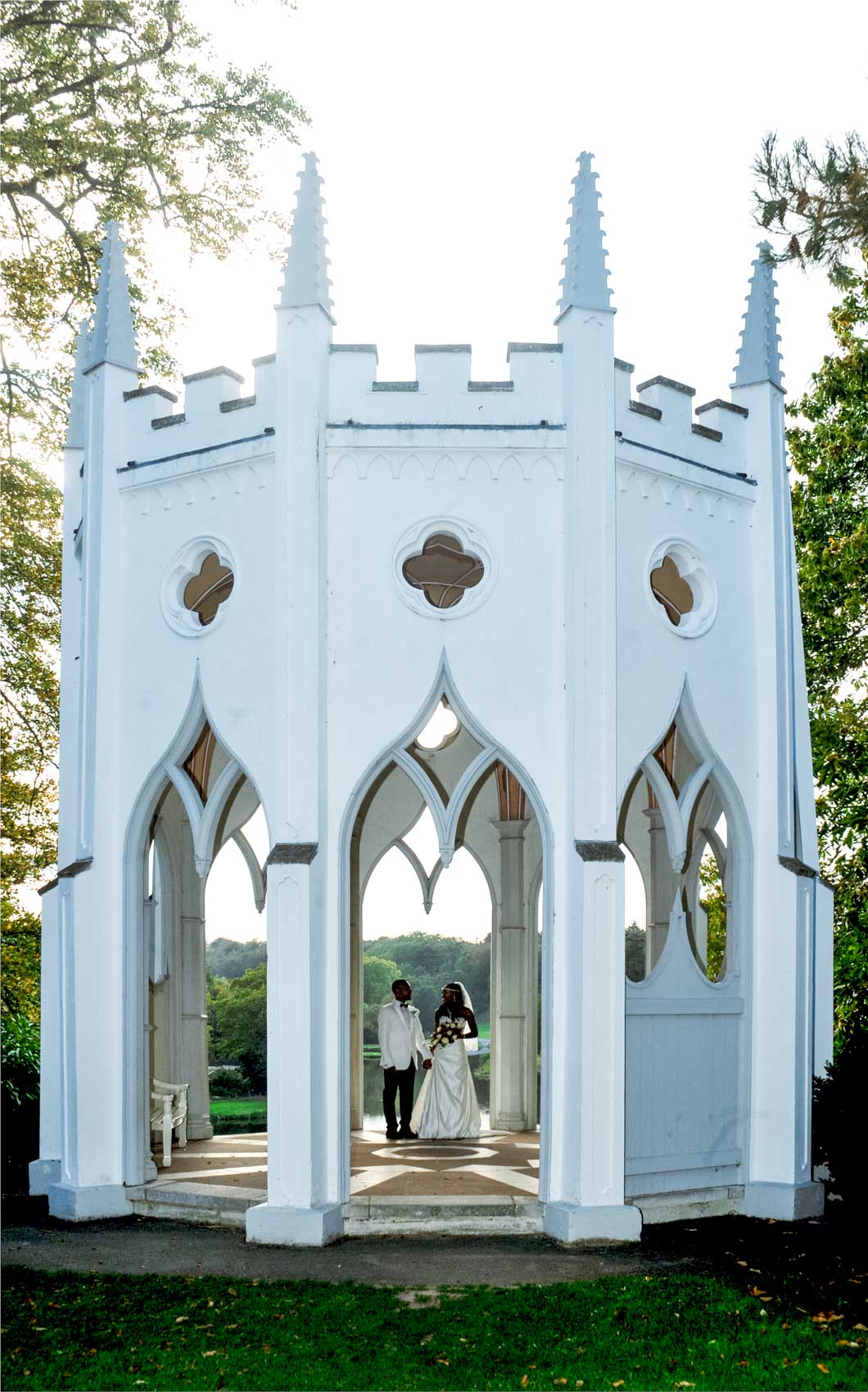 Wedding Photos Painshill Conservatory Cobham