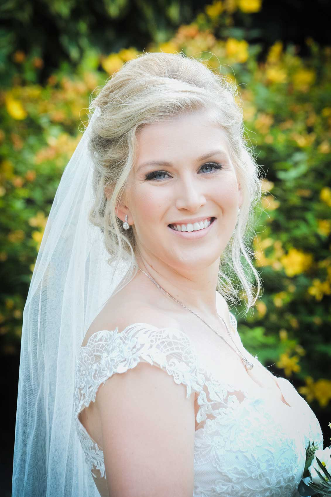 Bride at Nurstead Court Wedding Photography