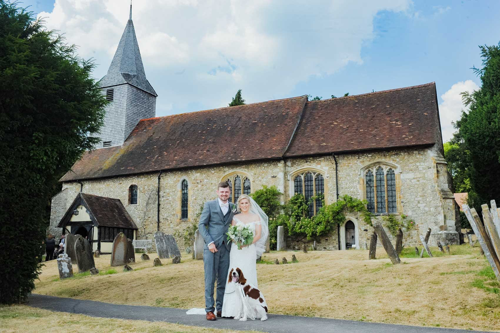 Wedding Photographer Kemsing Church