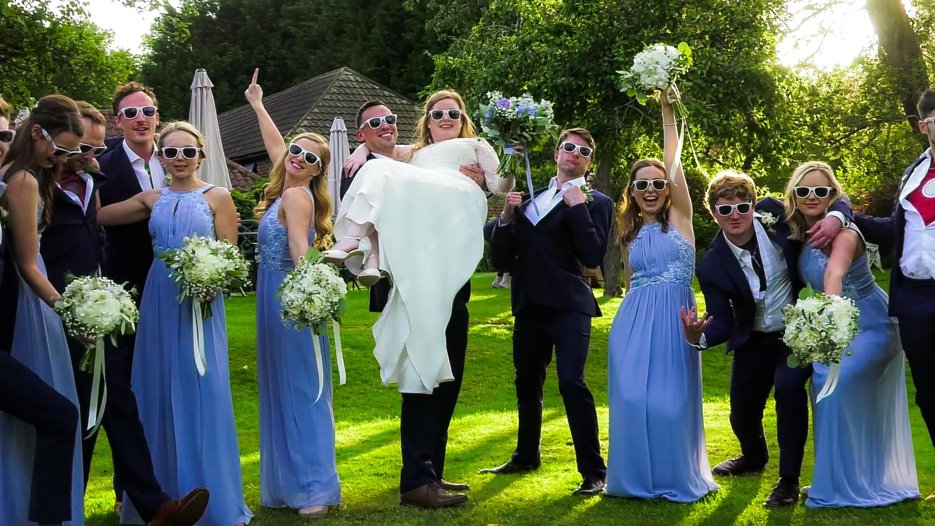 Wedding Videographer Oaks Farm