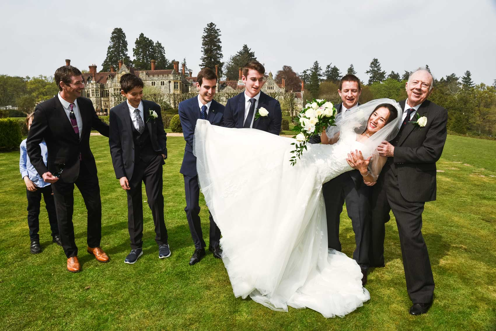 Rhinefield House Wedding Photographers
