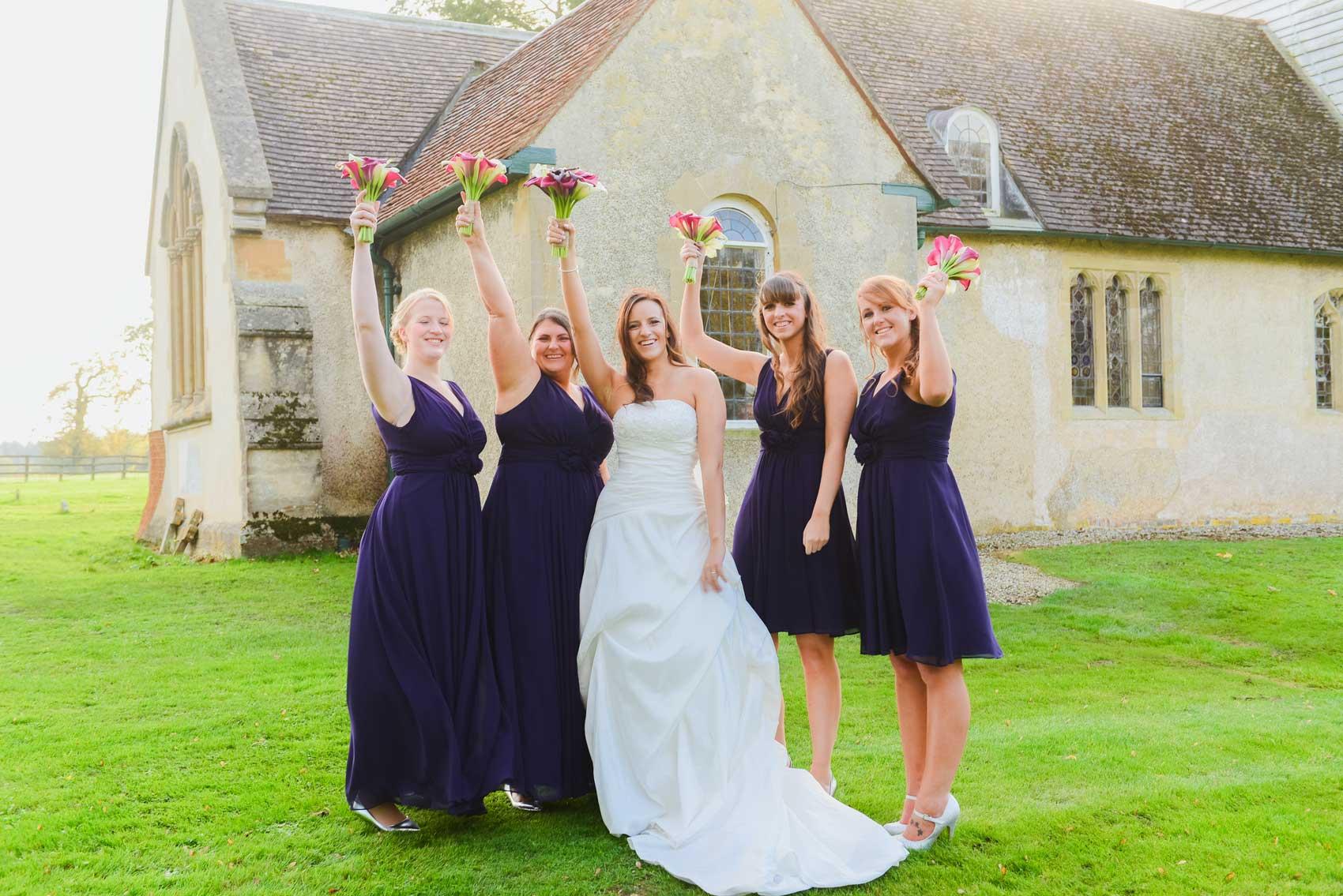 St Nicholas Church Wasing Park Wedding Photos