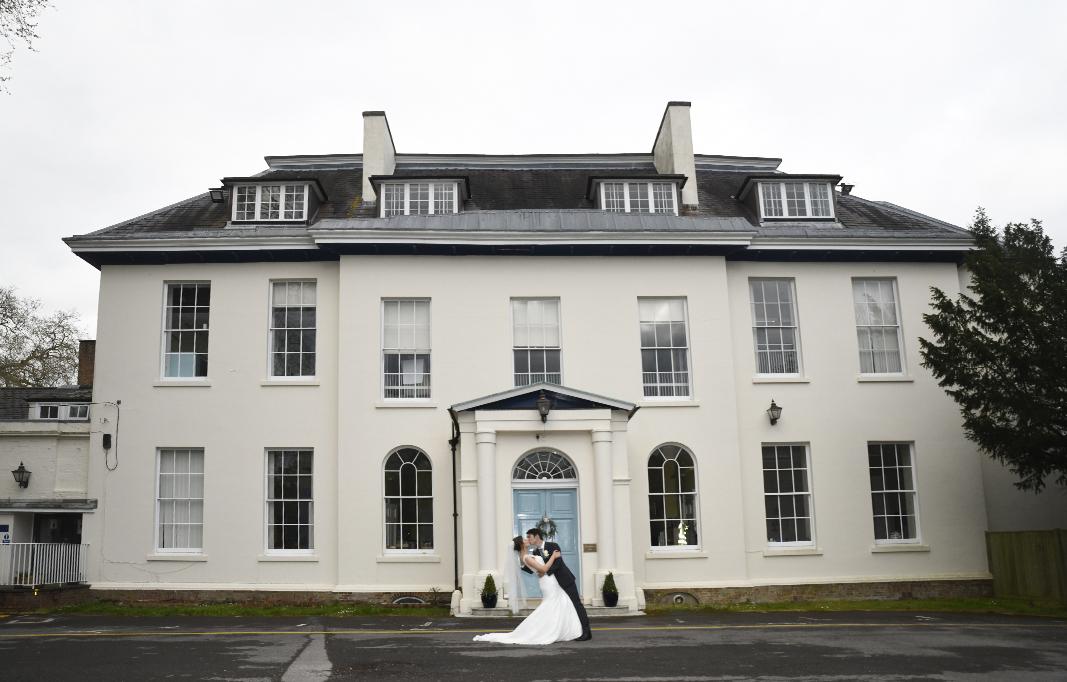 Wedding Photographer St Peters School Farnborough
