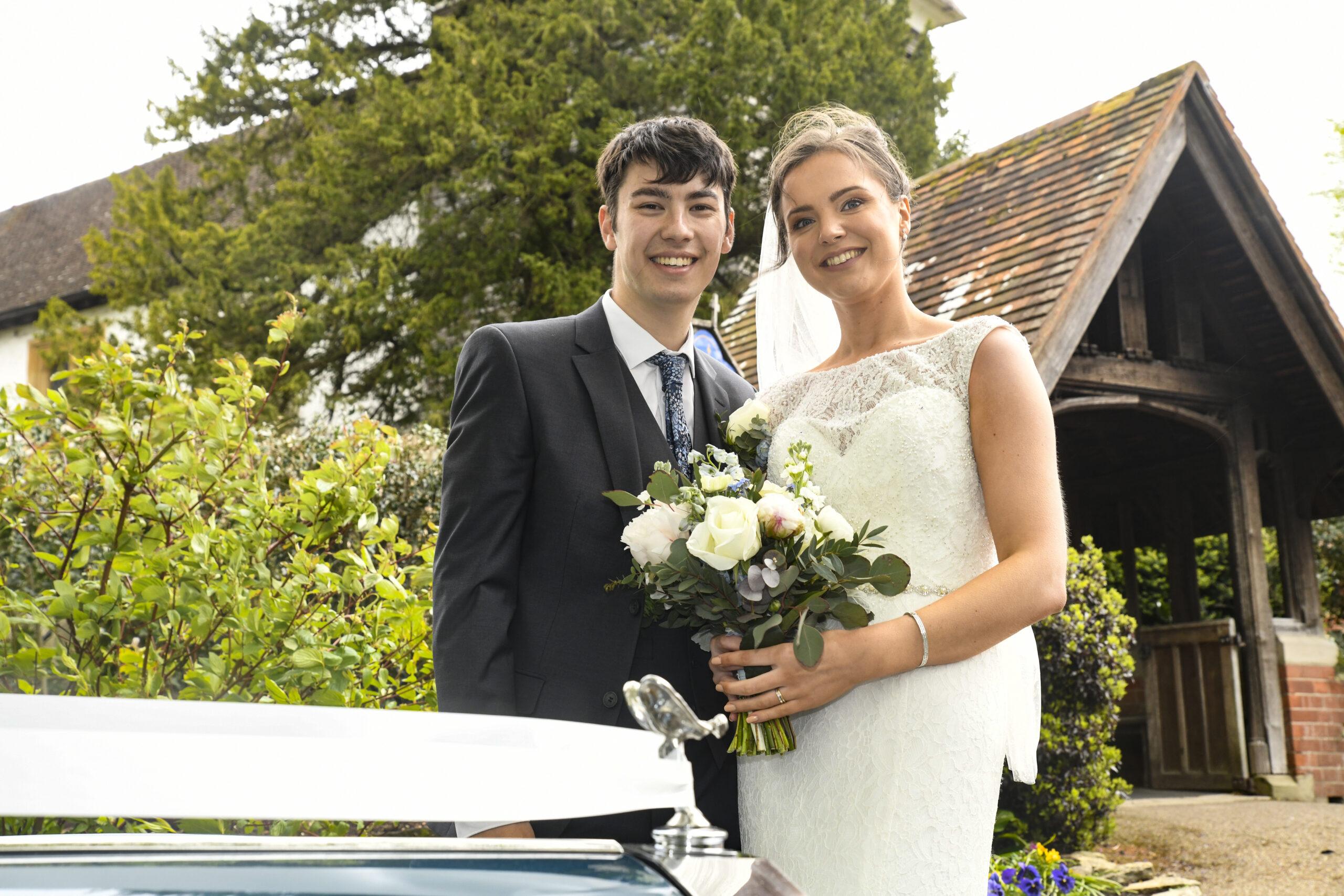 Laura & Nathans Wedding Photography in Farnborough