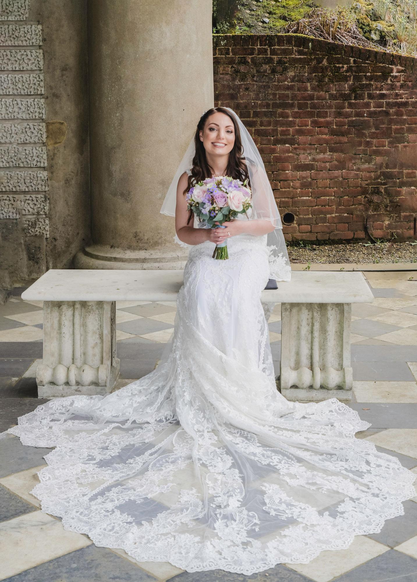 The Bride Wedding Photography Wotton House
