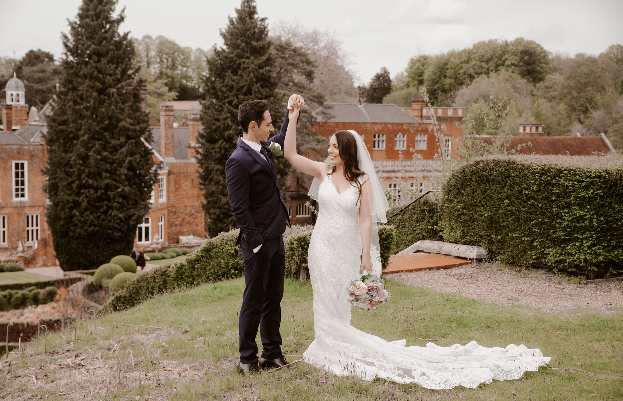 Drone Wedding Wotton House