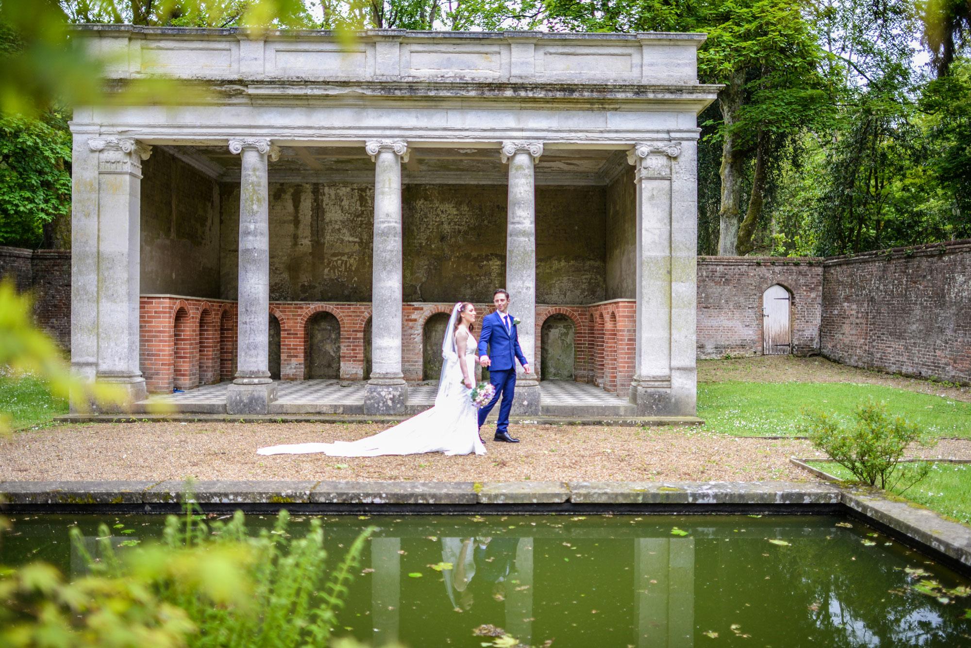 Wotton House Photographers for Wedding Secret Garden Wotton House