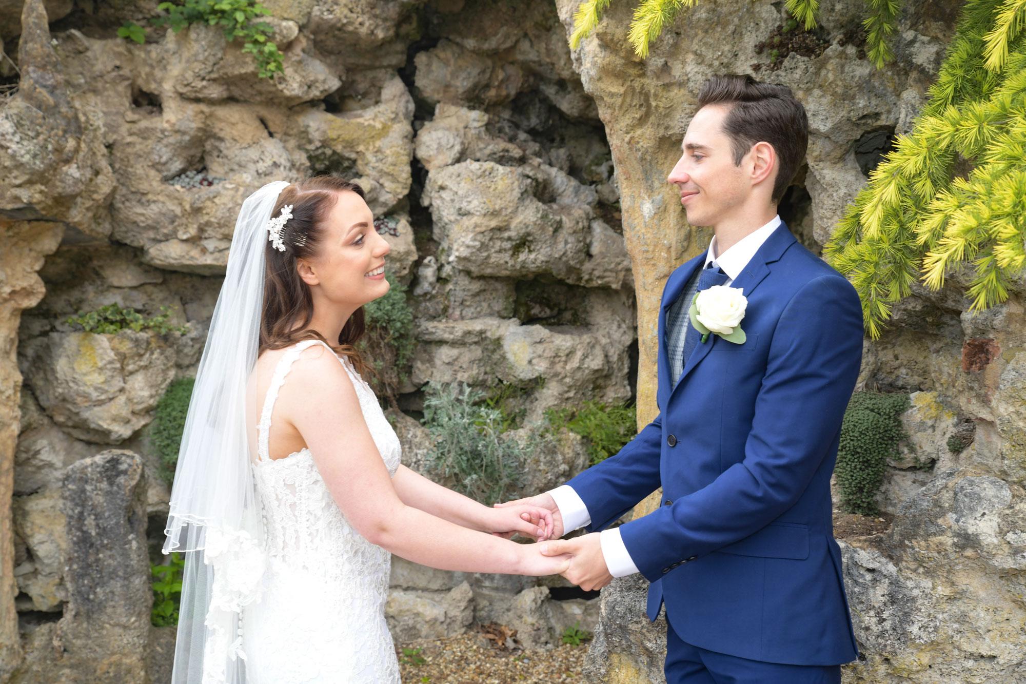 Wotton House Wedding Photographer Ideas by the Cave