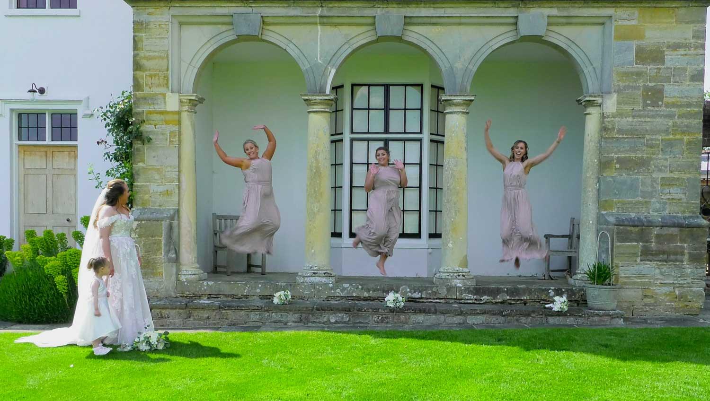 Wedding Videographer Hendall Manor Barns
