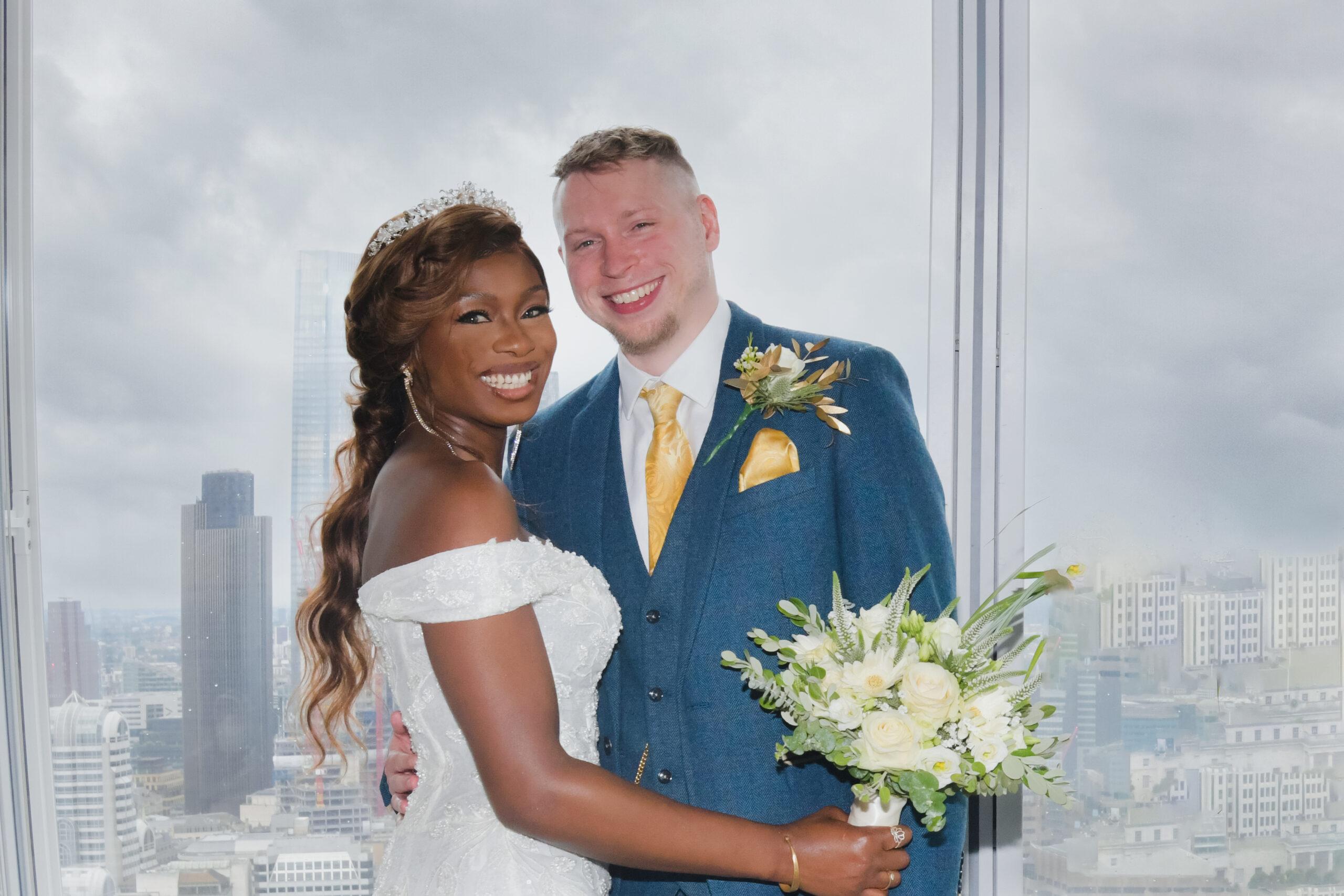 Wedding photographer for The Shangri-La Shard Hotel