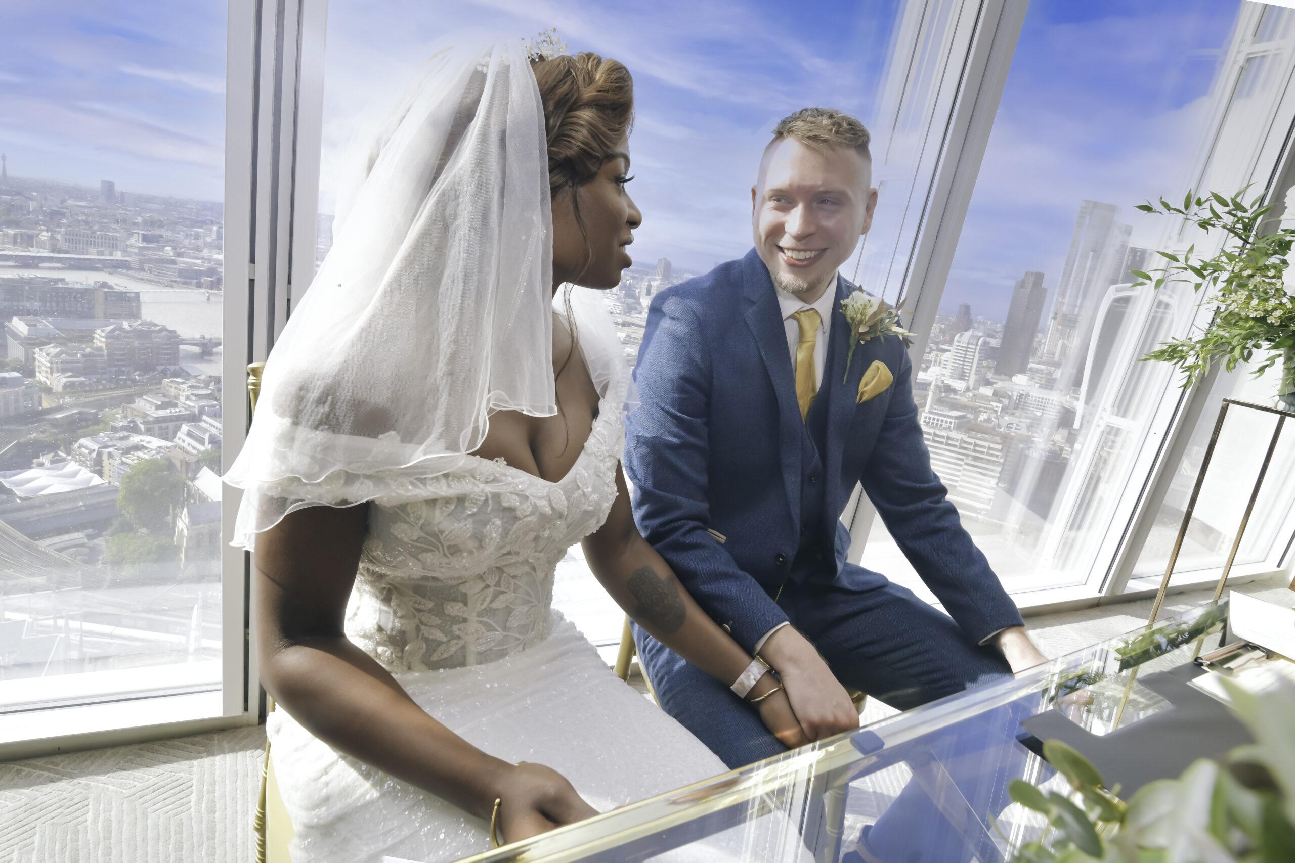 The Shard Wedding Photography