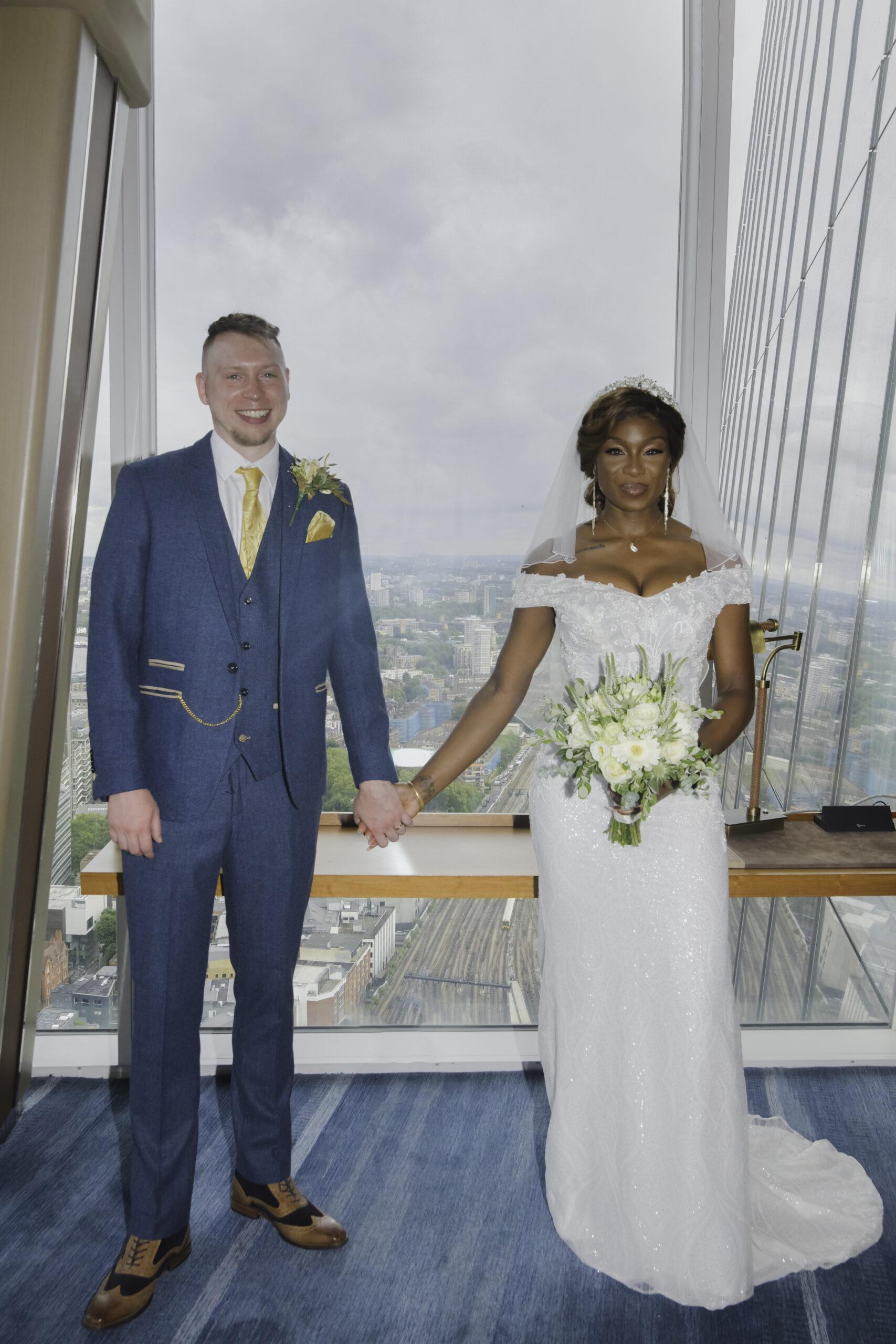 The Shard London Wedding Photographer