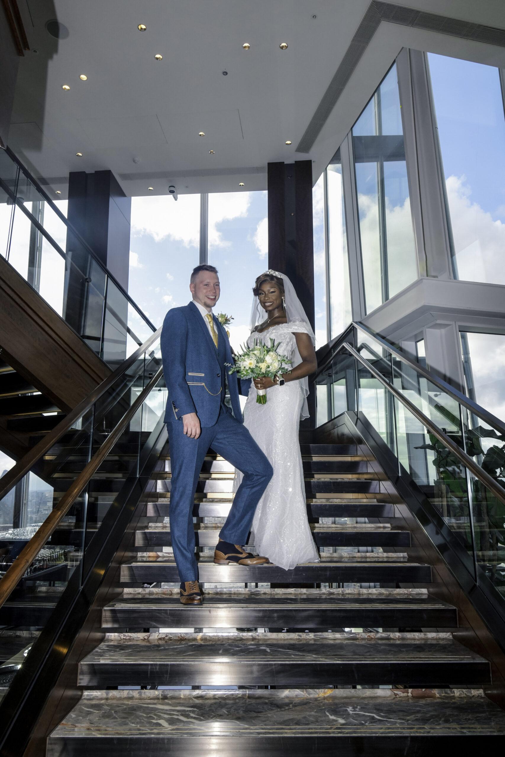 Wedding photography The Shard Hotel