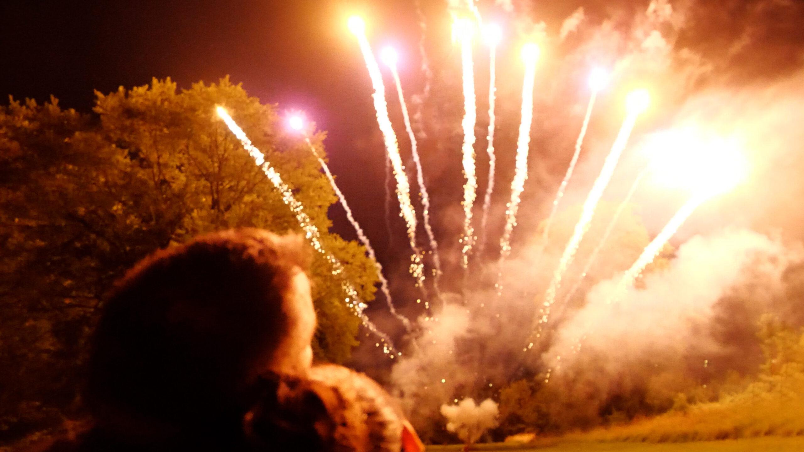 Wedding Fireworks Video