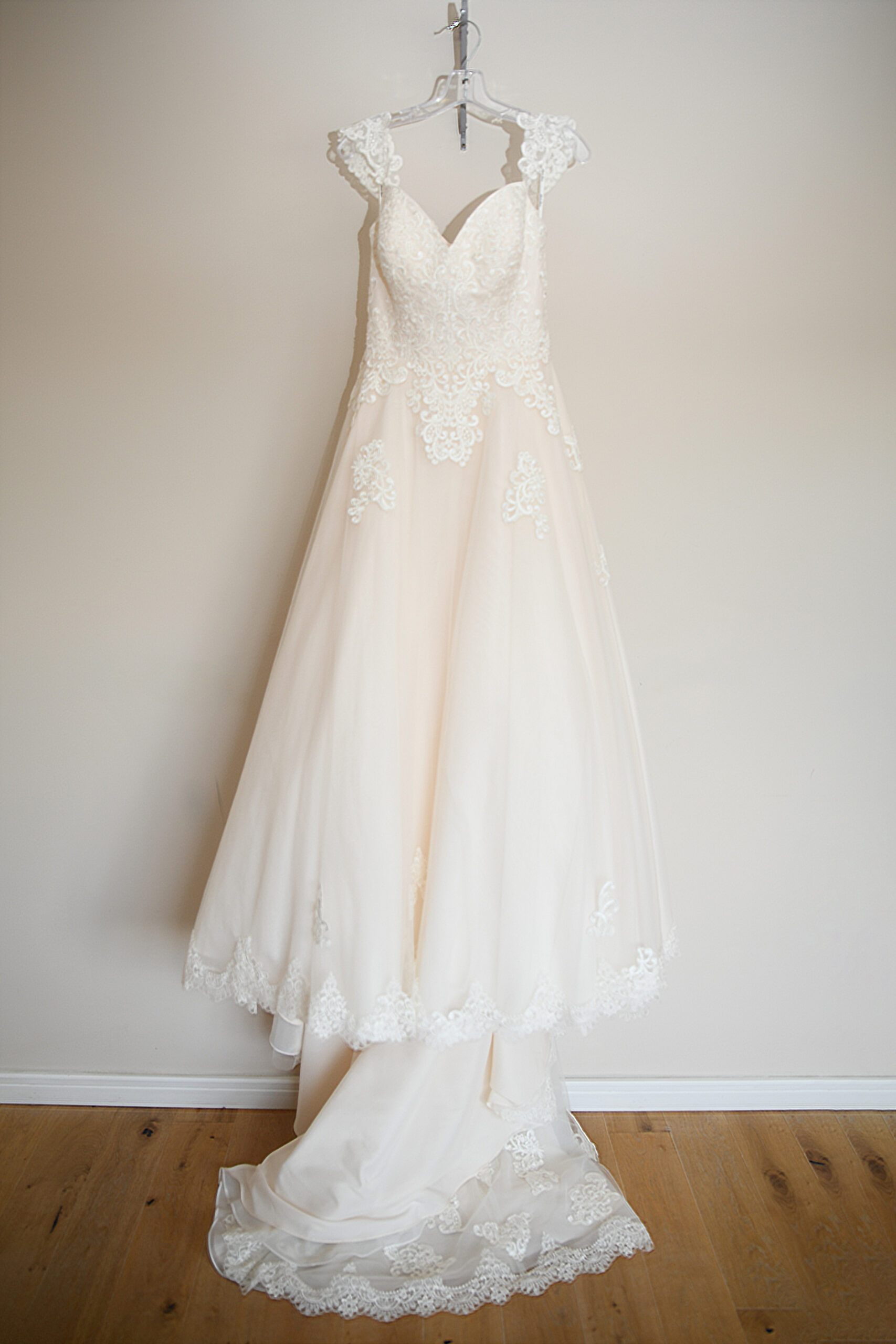 Wedding Dress at the Bridal Suite Wootton Park