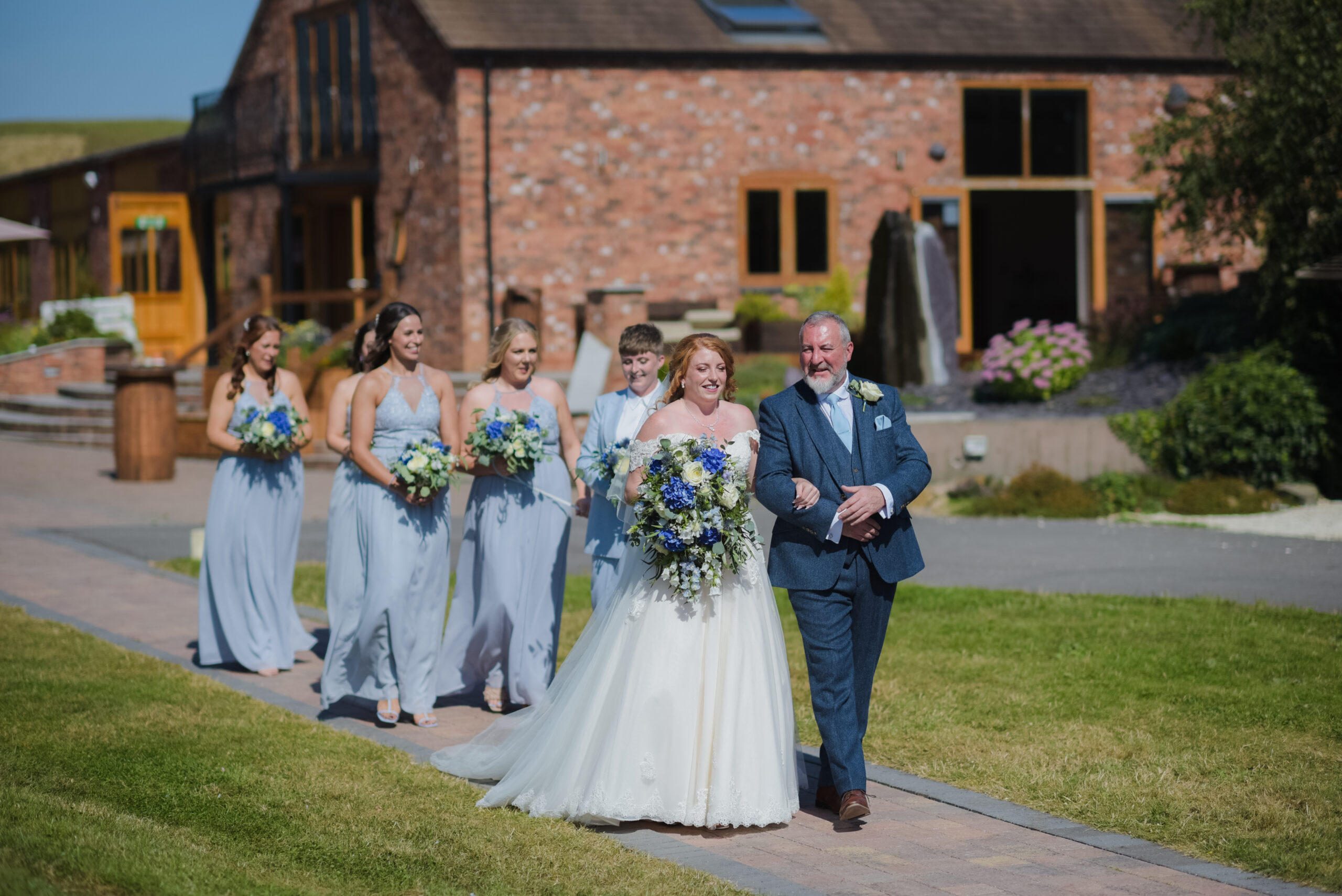 The Bridal Party Beautiful Wedding Photography at Wootton Park