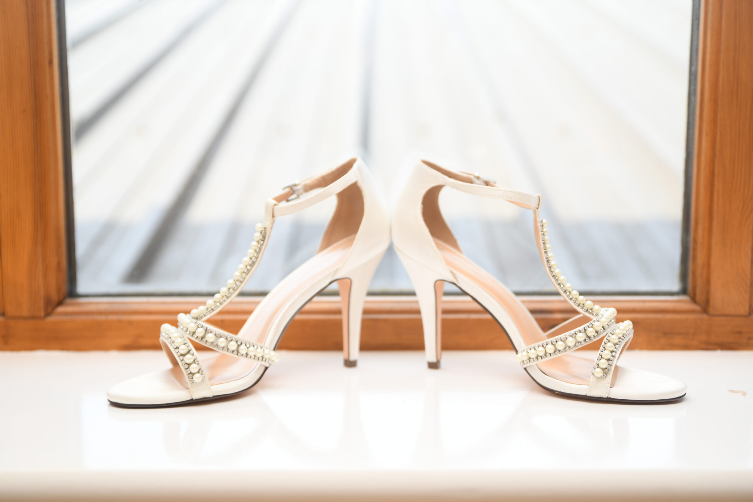 wedding Shoes at The Bridal Suite at Wootton Park