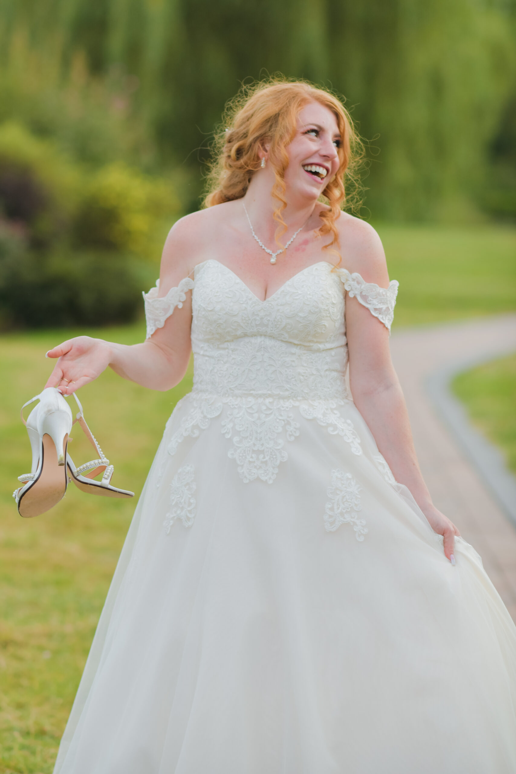 Bride Wedding Photography at Wootton Park