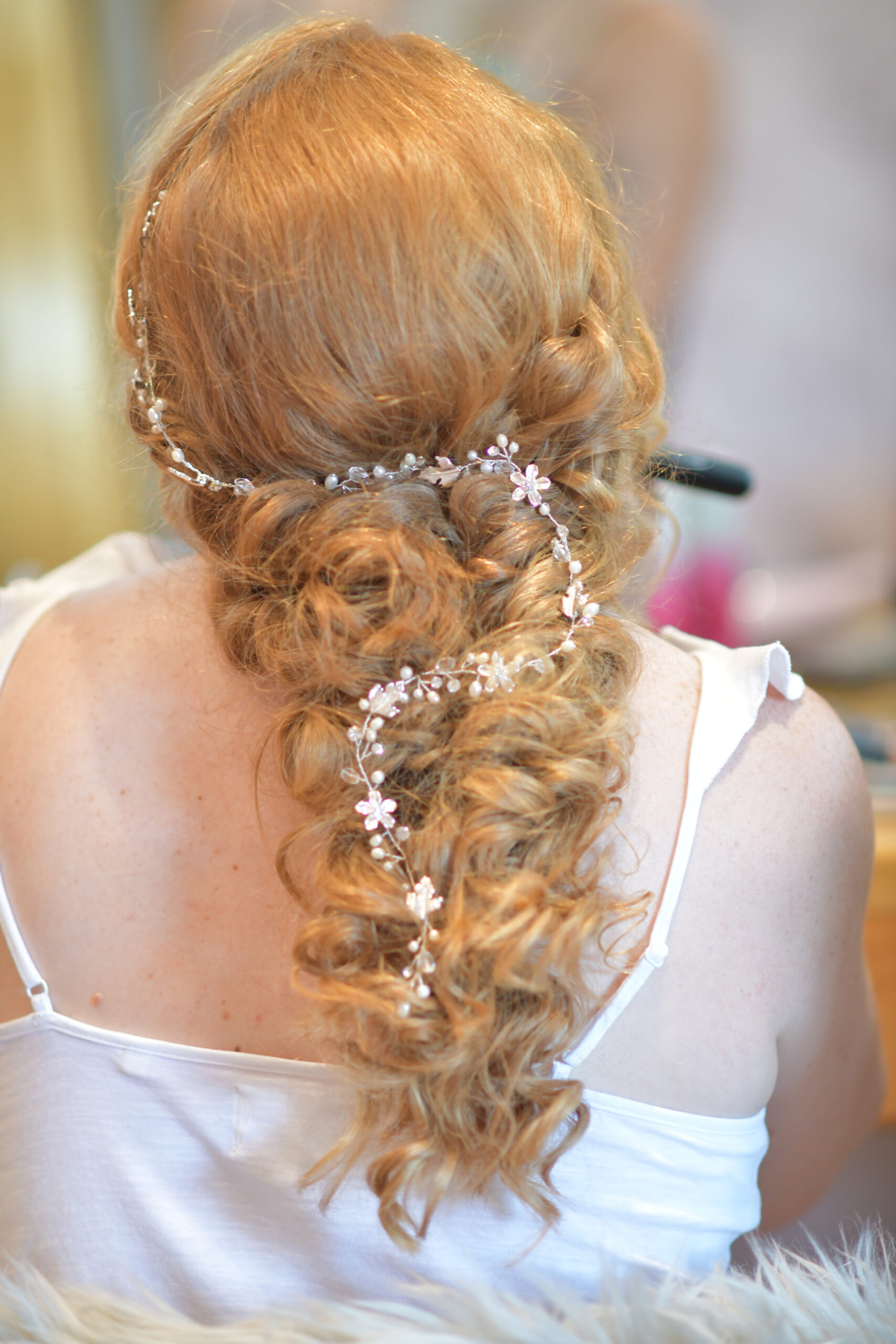 Bridal Hairdresser at The Bridal Suite at Wootton Park