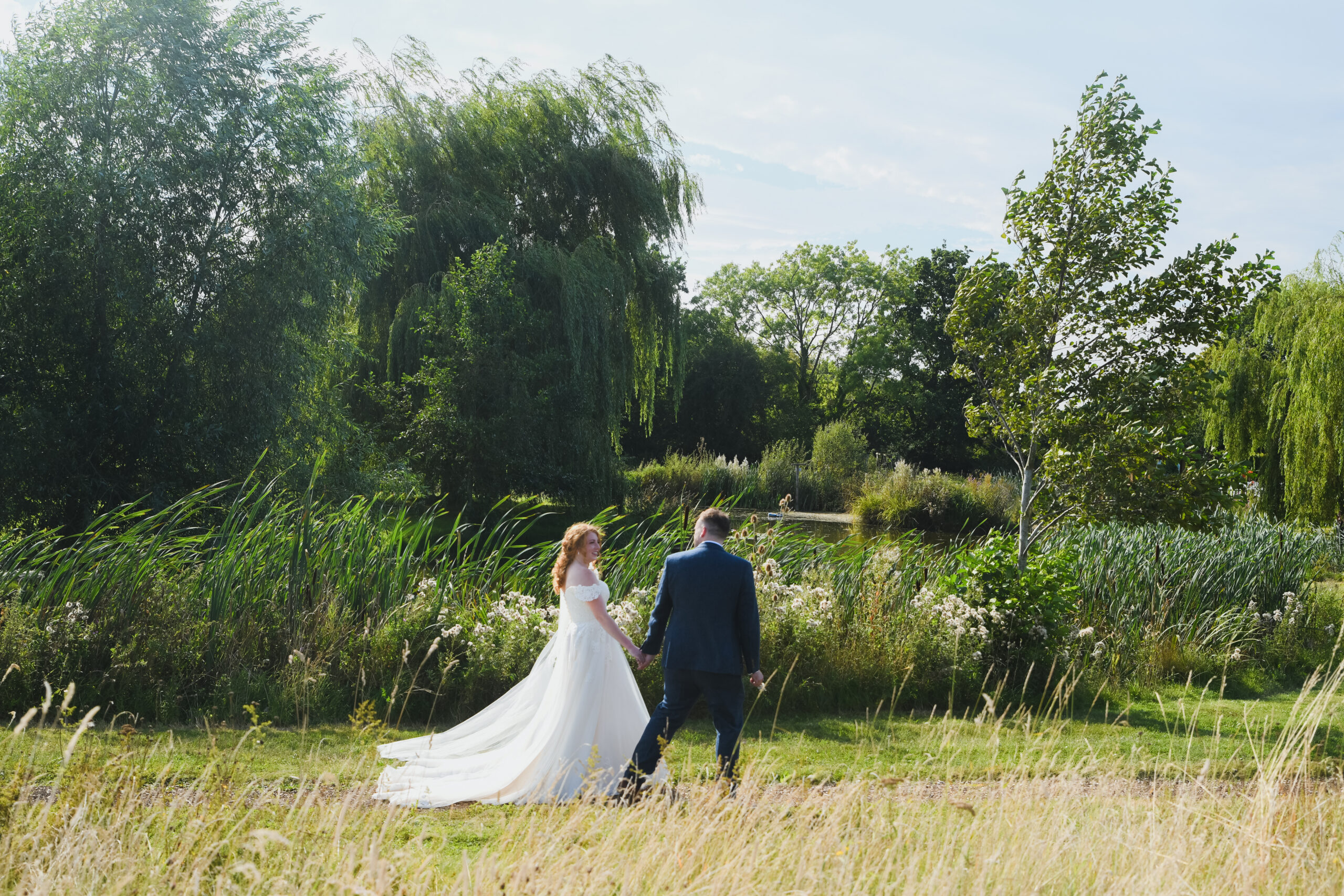 Wedding Photography in the grounds at Wootton Park