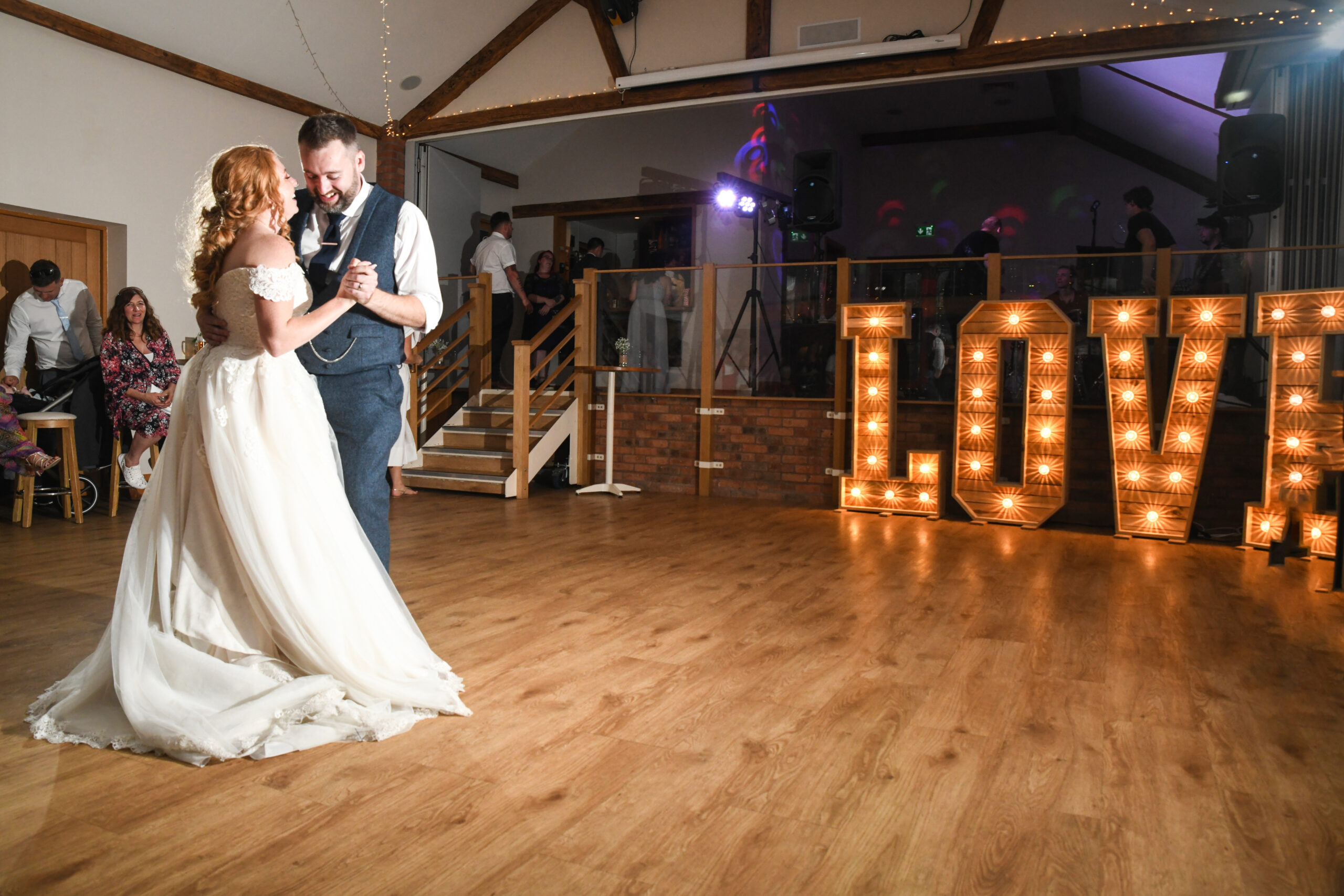 The First Dance at Wootton Park by The Wedding Photo Company